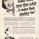 "1953 Clorox Ad ""satisfy me""  2619"