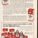 """1953 Black Leaf Ad """"Kill Crabgrass""""  2627"""