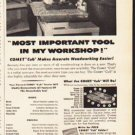 "1953 Comet Saw Ad ""Most Important Tool""  2631"