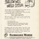 "1953 Fairbanks-Morse Ad ""drudgery or delightful living""  2636"