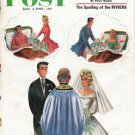 1961 Saturday Evening Post Cover Page ~ June 3, 1961  2642
