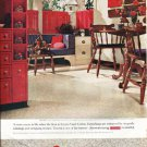 "1961 Armstrong Floors Ad ""A room comes to life""  2643"