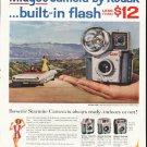 "1961 Kodak Camera Ad ""Midget camera""  2657"