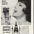 """1961 Canada Dry Ad """"The Face Is America""""  2658"""