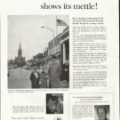 "1961 U.S. Savings Bonds Ad ""Main Street""  2665"