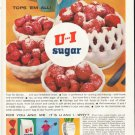 "1961 U and I Sugar Ad ""tops 'em all!""  2675"