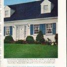 """1961 Dutch Boy Paints Ad """"5-year house paint""""  2679"""