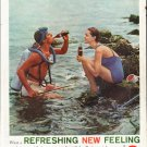 """1961 Coca-Cola Ad """"What a Refreshing New Feeling""""  2684"""