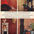 "1961 Georgia-Pacific Ad ""Room-warming guide""  2690"