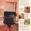 """1961 Du Pont Ad """"Lucite Wall Paint""""  2706"""