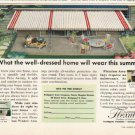 "1961 Flexalum Ad ""well-dressed home""  2709"