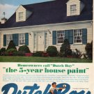 "1961 Dutch Boy Ad ""the 5-year house paint""  2712"