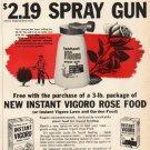 """1961 Vigoro Ad """"Spray Gun""""  2714"""