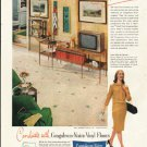 "1961 Congoleum-Nairn Ad ""smart woman's Styling secret""  2720"