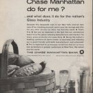 "1962 Chase Manhattan Bank Ad ""what does it do""  2732"