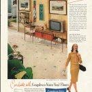 "1961 Congoleum-Nairn Ad ""smart woman's Styling secret"""