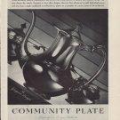 "1937 Community Plate Ad ""Georgian Design"""