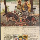 """1976 Gaines-burgers Ad """"Two experienced skeptics"""""""