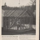 """1962 Travelers Insurance Ad """"When your house sprouts wings"""""""