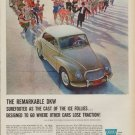 """1960 DKW Automobile """"Cast Of The Ice Follies"""" Ad"""