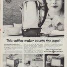 "1960 GE Coffee Maker ""Peek-A-Brew"" Ad"
