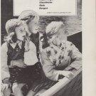 "1959 British European Airways Ad ""To Scandinavia"""