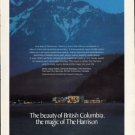 """1976 Harrison Hot Springs Ad """"The beauty of British Columbia"""""""