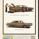 """1963 Dodge Dart Ad """"contain yourselves"""" ~ (model year 1963)"""