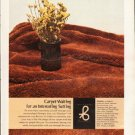 "1976 Berven Carpet Ad ""Carpet Waiting"""
