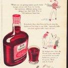 """1953 Guild Wine Ad """"The new wine flavor"""""""