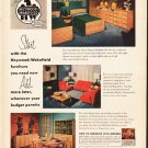 "1953 Heywood-Wakefield Ad ""furniture you need now"""