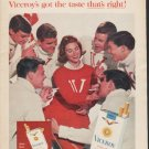 "1962 Viceroy Cigarettes Ad ""Smoke all seven"""