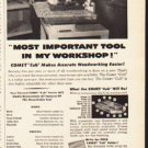 "1953 Comet Saw Ad ""Most Important Tool"""