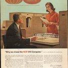 """1962 NCR Computer Ad """"NCR 315 Computer"""""""