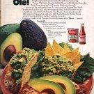 "1976 Rosarita Refried Beans Ad ""Rosarita y Avocado"""