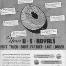 1937 U.S. Royal Golf Balls Ad