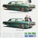 "1963 Dodge  Ad ""five full years"" ... (model year 1963)"