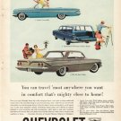 """1961 Chevrolet Ad """"You can travel"""""""