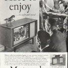 """1958 Motorola TV Ad """"More to enjoy"""""""