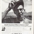 "1963 Mutual of New York Ad ""What in blazes"""