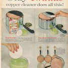 """1961 Twinkle Copper Cleaner Ad """"Only Twinkle"""""""