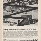 """1962 Rockwell-Standard Ad """"Serving basic industries"""""""