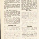 """1953 Southern Pacific Lines Ad """"The Main Line"""""""