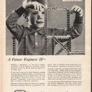 """1962 State Mutual of America Ad """"A Future Engineer"""""""