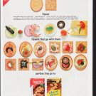 "1963 Nabisco Ad ""Bacon Thins & Wheat Thins"""