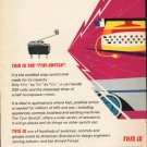 "1962 American-Standard Ad ""the ""Tyni-Switch"""""