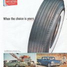 "1961 Atlas Tires Ad ""When the choice is yours"""