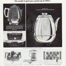 "1964 General Electric Ad ""coffee maker so sensitive"""