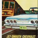 """1963 Chevrolet Impala Ad """"Most comfortable thing"""" ... (model year 1963)"""