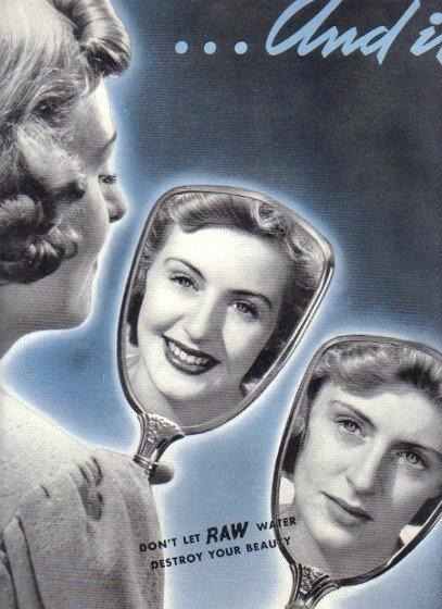 1937 Permutit Water Conditioning Ad